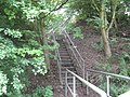 Service access stairway to the M5 - geograph.org.uk - 1361365.jpg