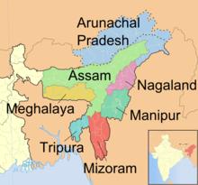 Carte Inde Assam.Assam Wikipedia