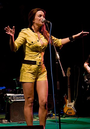 Severina (singer) - Severina at Karlovac Beer Festival 2008