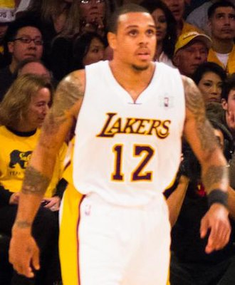 Shannon Brown - Brown with the Lakers in 2010