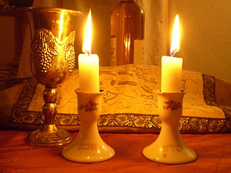 Shabbat - Shabbat candles