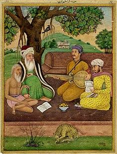Salim Chishti Sufi saint of the Chishti Order during the Mughal Empire in India