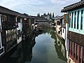 Shanghai Qingpu - Zhujiajiao IMG 8147 Caohe Street and canal.jpg