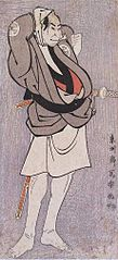 Ōtani Oniji II as Kawashima Jibugorō