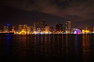 Sharjah - Panoramic view of Sharjah