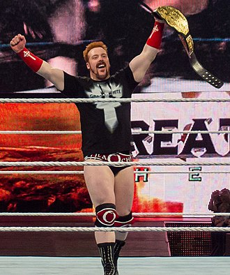 Sheamus - Sheamus as the World Heavyweight Champion in April 2012