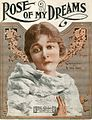 Sheet music cover - ROSE OF MY DREAMS (1919).jpg