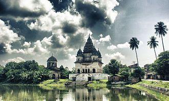 Religion in Bangladesh - Shiva Temple in Puthia, Rajshahi