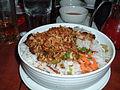 Shredded pork over rice noodles (2381950533).jpg