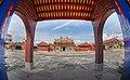 Shu-Shan Ancestral Shrine, Front Square, Tianzhong Township, Changhua County (Taiwan).jpg