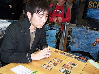 Shuhei Nakamura Japanese Magic: The Gathering player