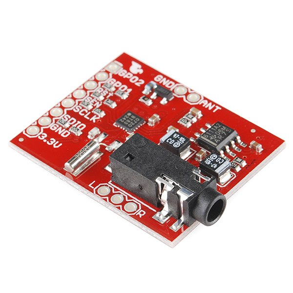 Si4707 weather band receiver breakout