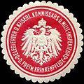 Siegelmarke Delegierter des Kaiserlichen Kommissars und Militär - Inspekteurs der Freiwilligen Krankenpflege W0238303.jpg