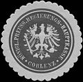 Siegelmarke Königl. Preuss. Rechnungs-Hauptkasse Coblenz W0338737.jpg