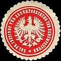 Siegelmarke Königlich Preußisches Institut für Serumforschung und Serumprüfung W0226613.jpg