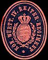 Siegelmarke Königlich Württembergische IV. Reiter - Regiment W0234190.jpg