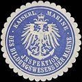 Siegelmarke K. Marine Inspektion des Bildungswesens der Marine W0352252.jpg