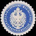 Siegelmarke K. Marine Küstenfunkspruchstelle Libau W0357522.jpg
