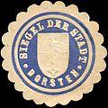 Siegelmarke Siegel der Stadt Dorsten W0216112.jpg