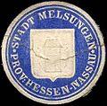 Siegelmarke Stadt Melsungen - Provinz Hessen - Nassau W0219439.jpg