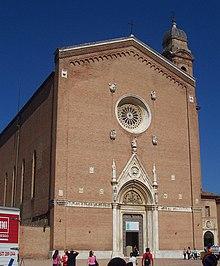 Basilica di San Francesco a Siena, dove sono conservate le ostie del miracolo eucaristico del 1730.