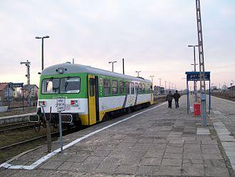 Sierpc railway station - Image: Sierpc szynobus