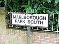 Sign, Marlborough Park South, Belfast - geograph.org.uk - 1458829.jpg