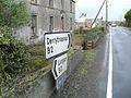 Signs at Derryadd - geograph.org.uk - 1591589.jpg