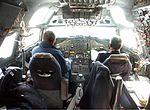 Silk Way Airlines Douglas DC-8 cockpit Wahlstrom.jpg