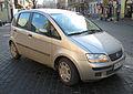 Silver Fiat Idea MultiJet in Kraków (1).jpg