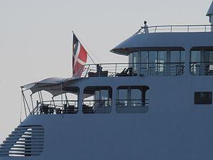 Silver Whisper Flag Bahamas 10 June 2012 Tallinn.JPG