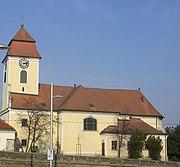 St. Laurenz Kirche in the Simmeringer Friedhof