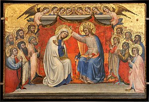 Simone dei Crocifissi - Coronation of the Virgin