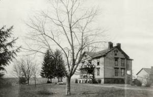 Chatham Hall - Sims-Mitchell House, Chatham, early home of Chatham Hall after fire of 1906