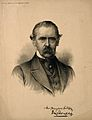 Sir Henry Thompson. Lithograph, 1887, after Sir J. E. Millai Wellcome V0005805.jpg