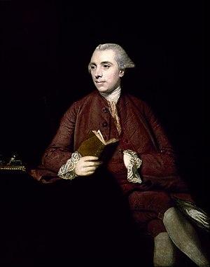 Anthony Chamier - Anthony Chamier, 1767 portrait by Sir Joshua Reynolds