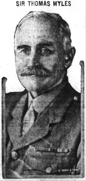 Thomas Myles - Myles in 1918