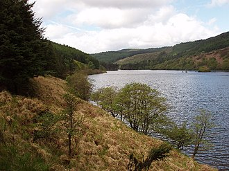 Battle of Glen Trool - Site of Battle of Glen Trool, 1307