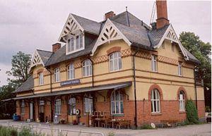 Skinnskatteberg - Skinnskatteberg railway station