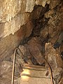 Skirwith cave staircase.JPG