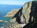Slab Cove, Baggy Point - geograph.org.uk - 560085.jpg