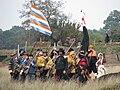 Slag om Grolle 2008-2 - Staatse troepen staan op het slagveld.jpg