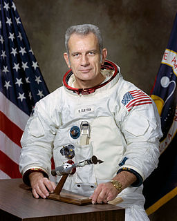 Deke Slayton American astronaut