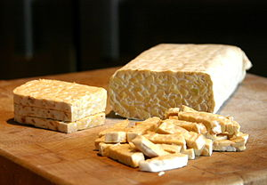 Tempeh - Sliced tempeh