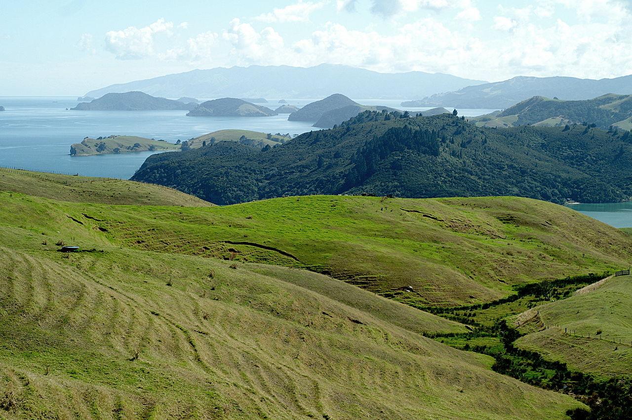 Islands Below New Zealand