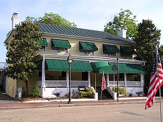 Isle of Wight County, Virginia - Image: Smithfield colonial tavern