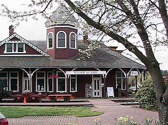 Snoqualmie, Washington - Snoqualmie Depot