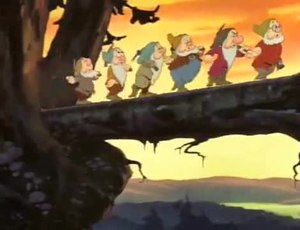 Файл:Snow White and the Seven Dwarfs (Original Theatrical Trailer 2) 1937 (La Blancaneu).ogv
