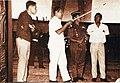 Soeharto reviewing the Conefo Project, Gedung MPR DPR RI - Sejarah dan Perkembangannya, p61.jpg