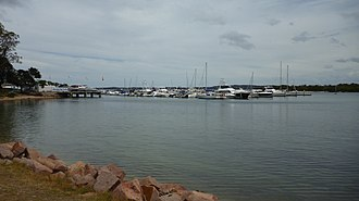 Soldiers Point, New South Wales - Soldiers Point marina